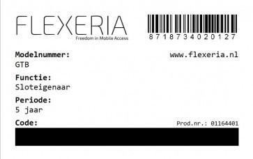 Flexeria beheer als sloteigenaar