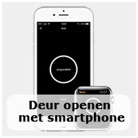 Deur openen met smartphone